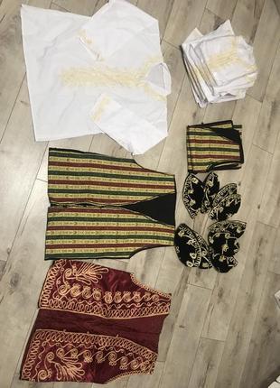 Форма кальянщика рубашка жилет жилетка