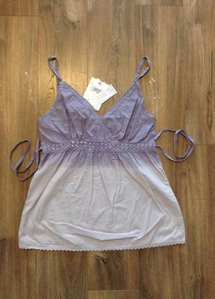 Блуза переходящий цвет, 100% хлопок, с бирками, индия / большая распродажа!