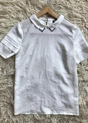 Блуза белая mango