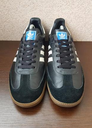 Кросівки adidas samba original шкіра+замша