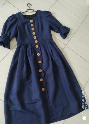 Дуже стильне плаття з рукавами воланами