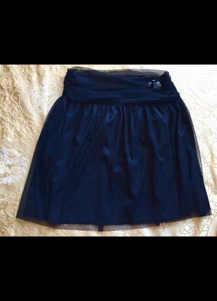 Artigli италия новая юбка расклешенная шифон на атласе со swarovski