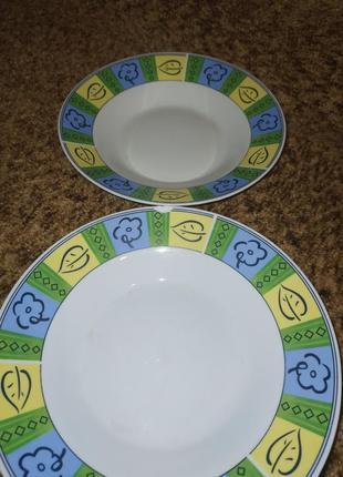 2 тарелки за 30грн