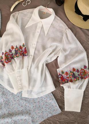 Блуза, рубашка, вышиванка,