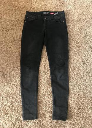Скіні джинси, темно-сірого кольору