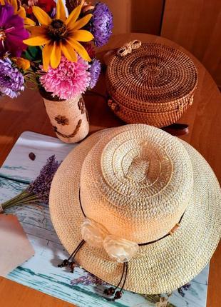 Канотье шляпа шляпка панамка