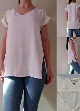Базовая белая блуза
