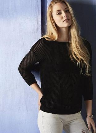 Отличный женский пуловер сетка esmara. размер s, евро 36-38