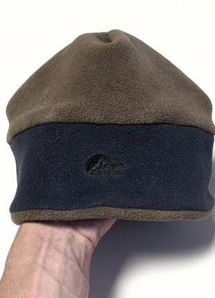 Lowe alpine теплая трекинговая флисовая шапка polartec туристическая