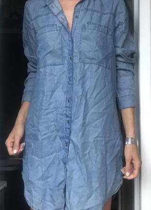 Мега легкое джинсовое платье