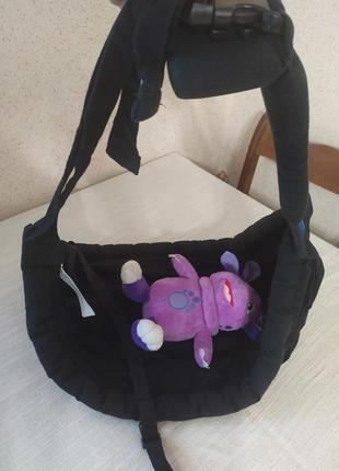 Слинг, переноска, шезлонг для новорожденного the baba sling (2-15 кг)