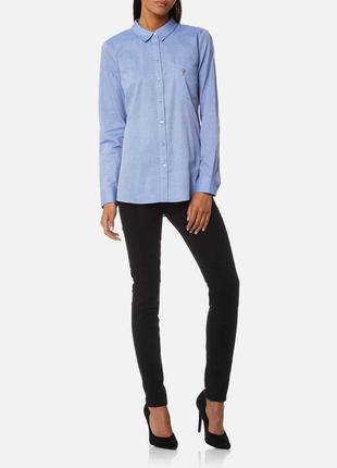 Качественная рубашка дорогого бренда ткань с передивом