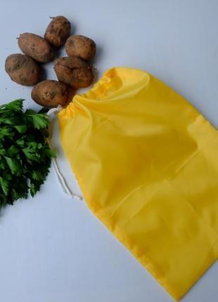 Эко мешок из болоньи, эко торбочка, мешок для продуктов,тканевой пакет, ассорти