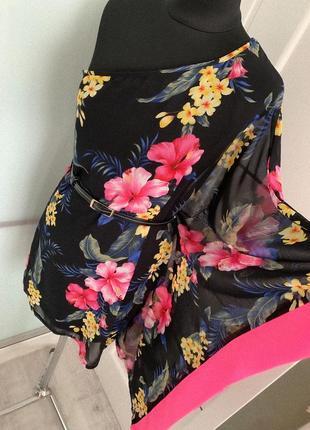 Шикарное шифоновое платье dorothy perkins🍬