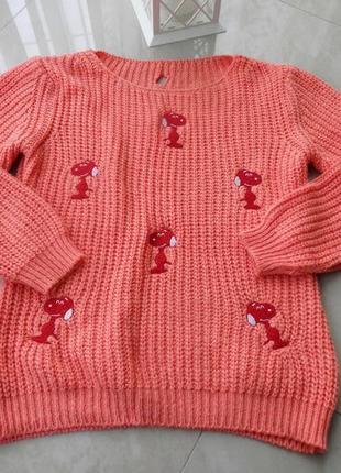 Стильний в'язаний свитер кофта s, m