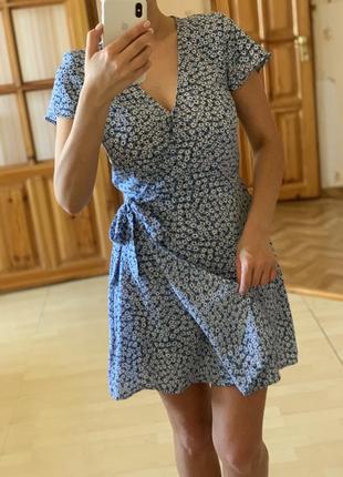 Платье сарафан на запах