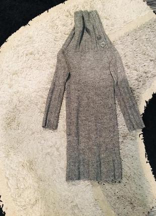 Шерстяное платье свитер atmosphere
