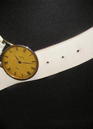 Оригинальный кожанный ремень часы распродажа в связи с переездом!