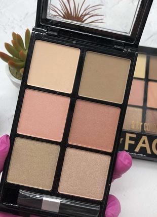 Набор для макияжа «for face»  румяна   хайлайтер  номер 1