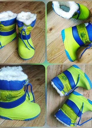 Сноубутсы, сапожки, ботинки lupilu