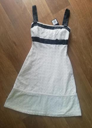 Шикарное батистовое платье, сукня, сарафан, плаття, прошва