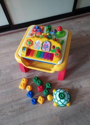 Столик игровой конструктор пианино