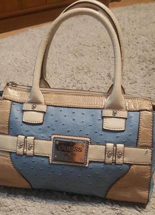 Оригинал.новая,стильная,фирменная,шикарная сумка-шоппер guess