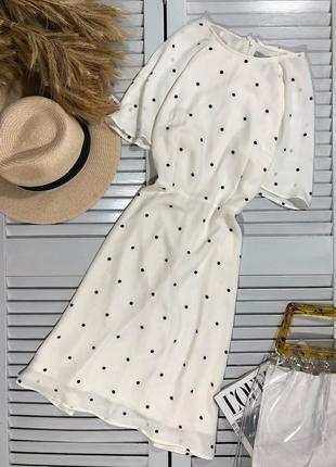 🌿 милейшее платье в горох от h&m