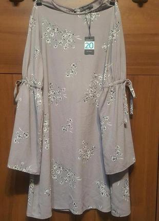 Оригинал.новое,стильное,свободное платье primark