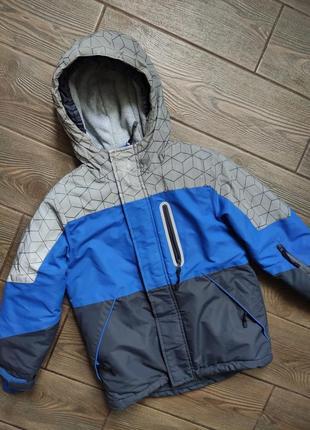 Куртка зимняя cool club 116см в отличном состоянии