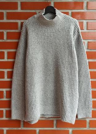 H&m oversized свитер размер l