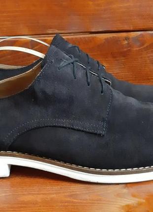Кожаные туфли,туфлі от zara(45)