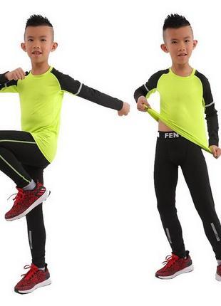 Термобелье детское fenta green (2666)