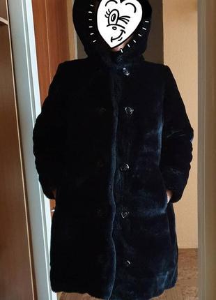 Шуба зимняя очень теплая