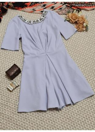 Голубой ромпер miss selfridge/комбинезон шортами
