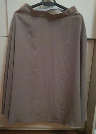 Юбка миди в бельевом стиле american apparel