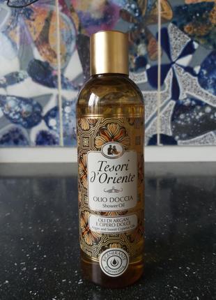 Tesori d´oriente, масло для душа, 250мл, италия
