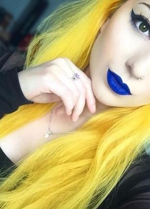 Bright daffodil. яскрава фарба від la riche directions / веганская краска для волос