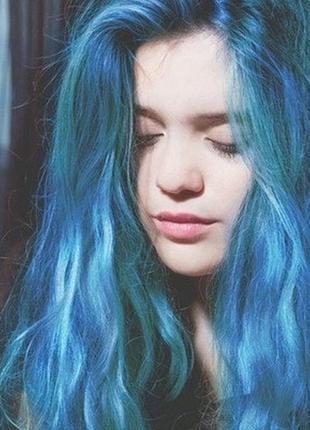 Lagoon blue. яскрава фарба для волосся, не тестується на тваринах / краска для волос
