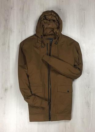 F9 куртка primark примарк коричневая курточка ветровка
