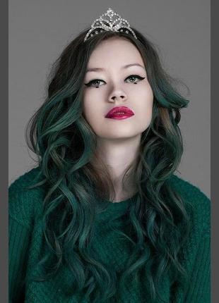 Alpine green. этичная круелти фри краска для волос / зелена фарба для волосся