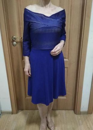 Очень красивое платье! р. 14. коттон 95% dorothy perkins