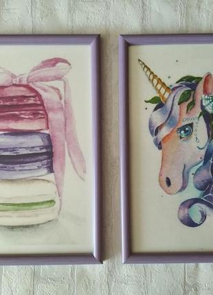 """Картины """"мечта"""", диптих"""