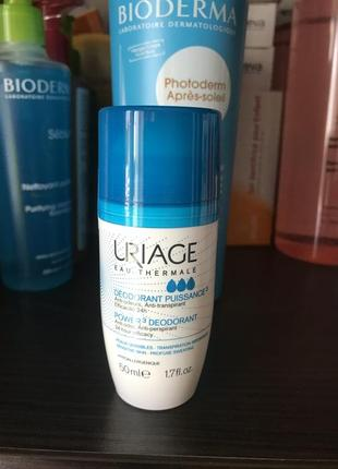 Шариковый дезодорант uriage