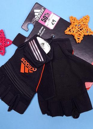 Перчатки для спорта adidas оригинал. женские