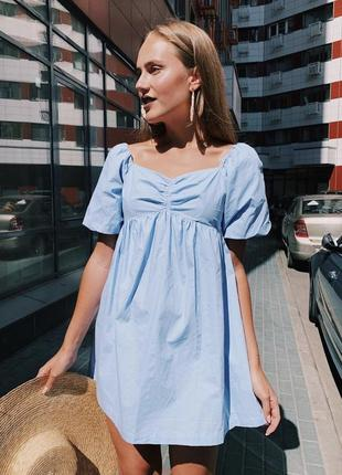 Женское платье фонарик🌹