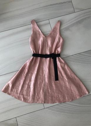 Льняное платье lanvin.оригинал.