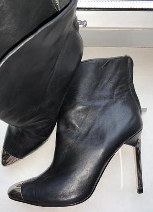Кожаные ботинки от zara 👍🏼