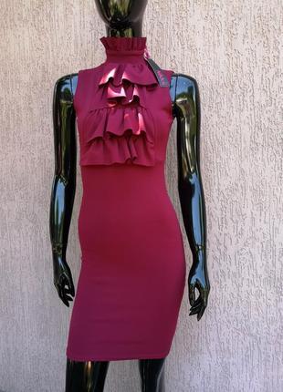 Новое нарядное праздничное вечернее платье по фигуре