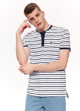 Новая стильная футболка поло, 100% хлопок, m, l